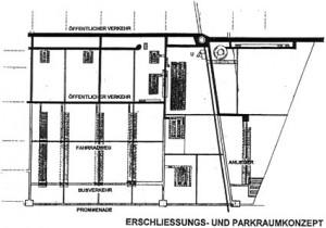 Erschließungs- und Parkraumkonzept
